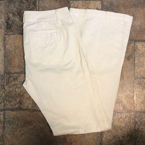 CAbi Farrah White Pants 628R